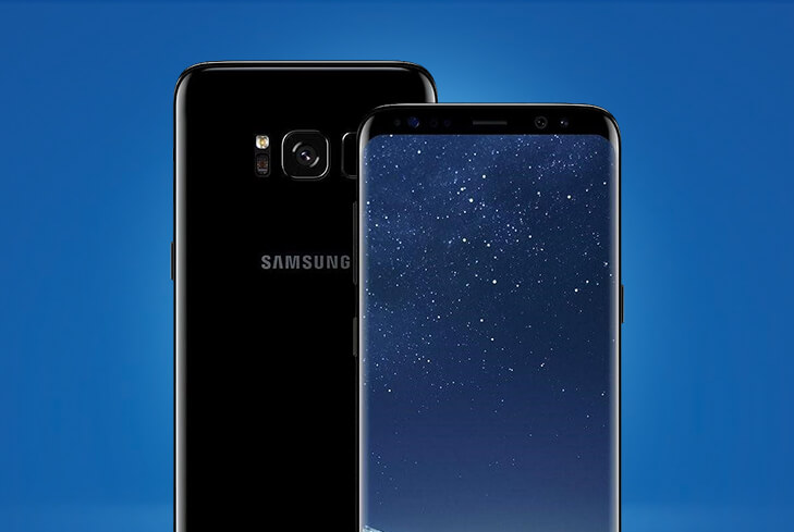 Save £72 on the Samsung Galaxy S8