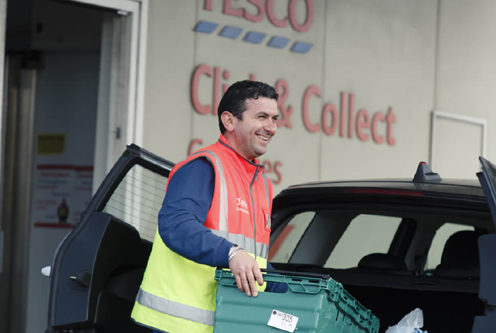 Can't get your preferred delivery slot? Try Click+Collect instead