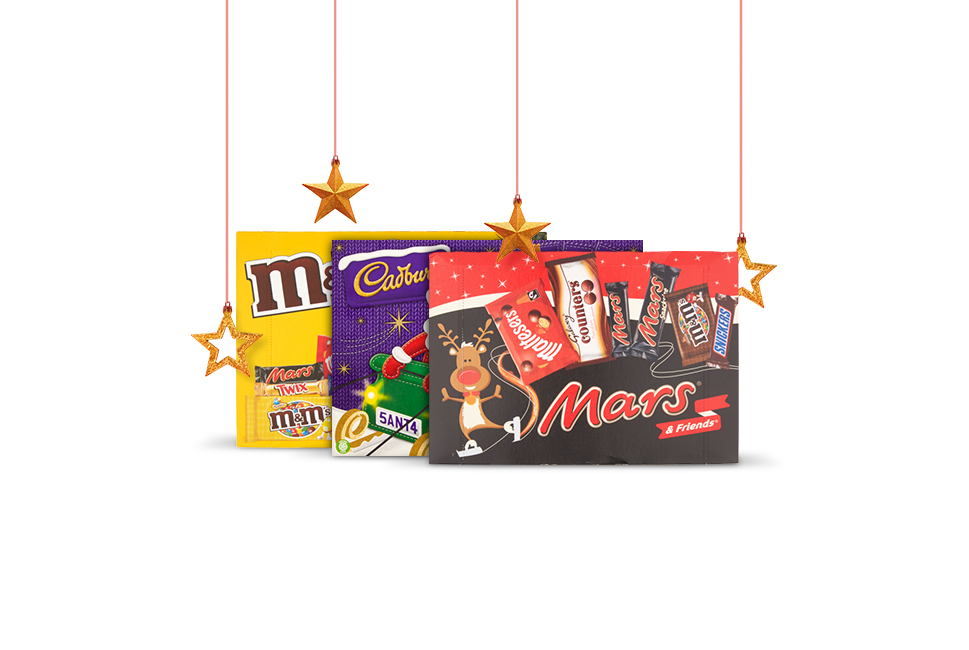 Half price selection boxes