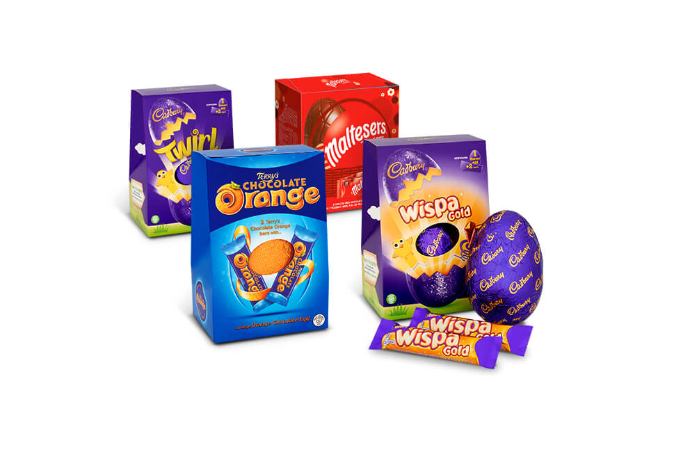Half price on selected large Easter eggs