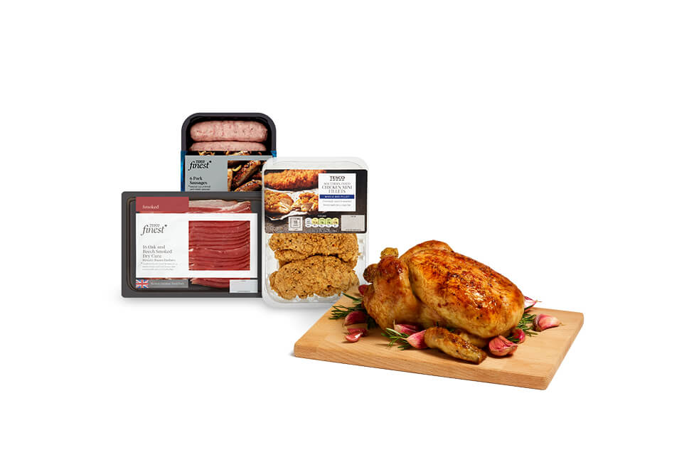 Save 25% on selected meat, fish and poultry