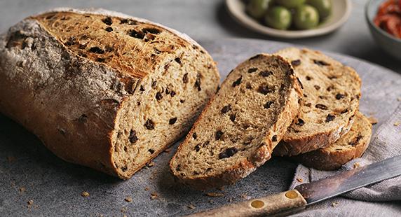 Tesco Finest Pandaluz Olive Bread