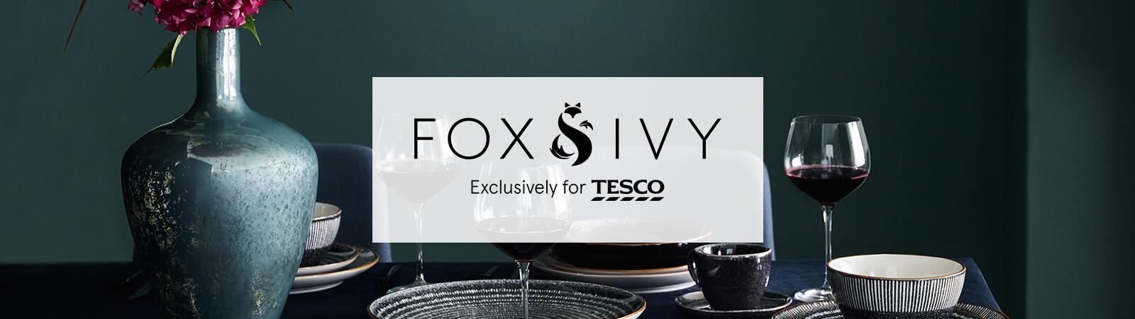 Fox & Ivy | Bedding, home accessories & tableware - Tesco Groceries
