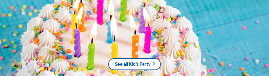 Show More Kids Party Food To Order Birthday Cakes