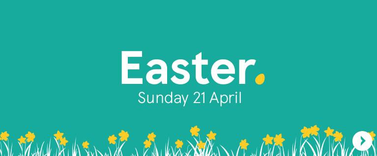 Easter Sunday 21 April