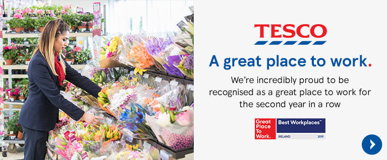 Tesco great place to work