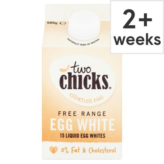 Two Chicks Free Range Liquid Egg White 500Ml
