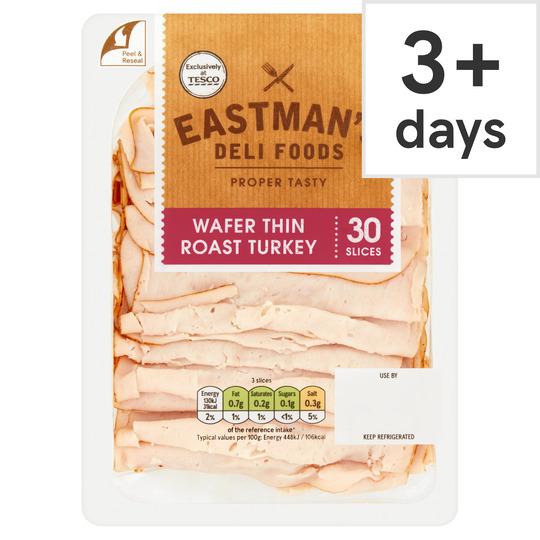 Eastman's Wafer Thin Roast Turkey 250G