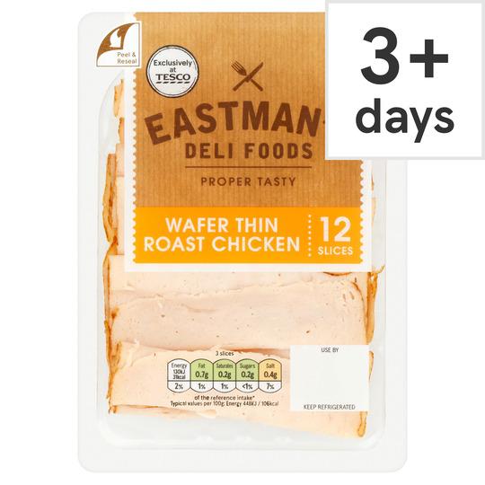 Eastmans Wafer Thin Roast Chicken 125G