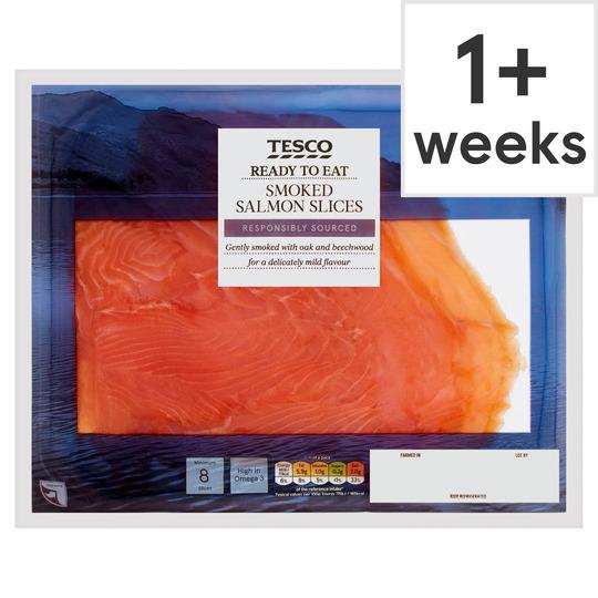 Tesco Smoked Salmon 240G
