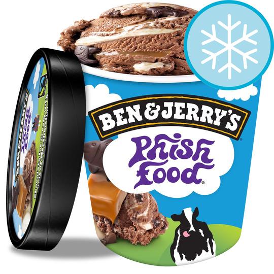 Ben & Jerry's Phish Food Ice Cream 500Ml