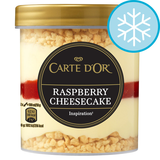 image 1 of Carte D'or Raspberry Cheesecake Ice Cream 430Ml