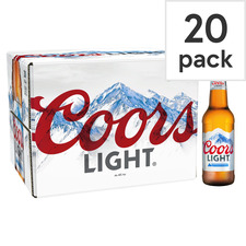 image 1 of Coors Light 20 X 330Ml