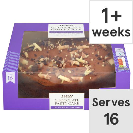 Tesco Chocolate Party Cake Tesco Groceries