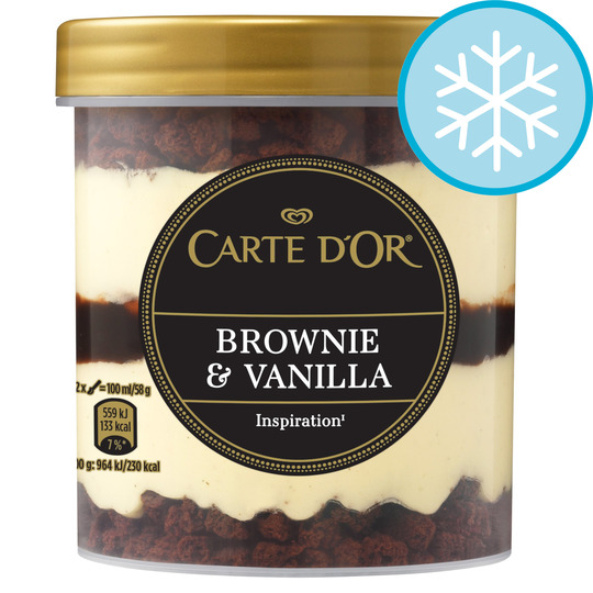 image 1 of Carte D'or Brownie & Vanilla Ice Cream 430Ml
