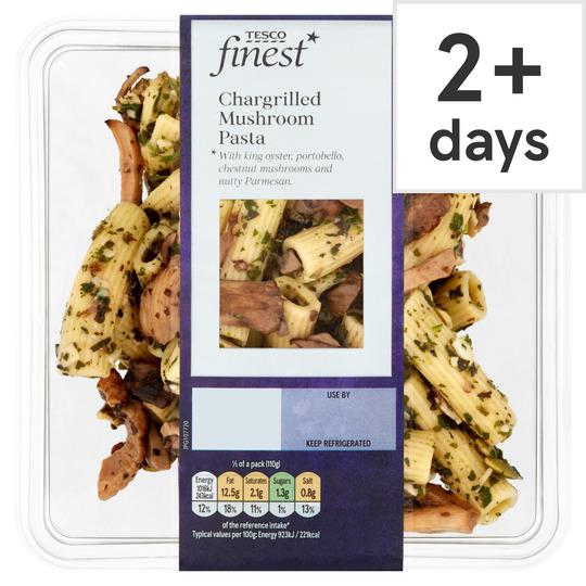 Tesco Finest Chargrill Mushroom Pasta 220G
