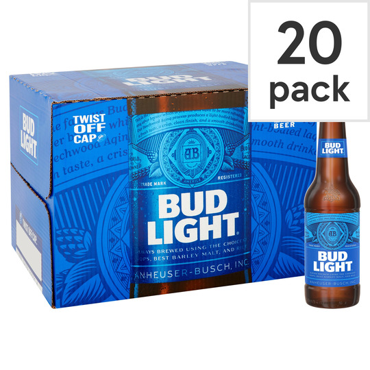 Bud Light Beer 20X300ml