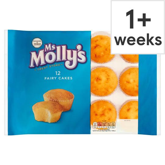 Ms Molly's 12 Fairy Cakes