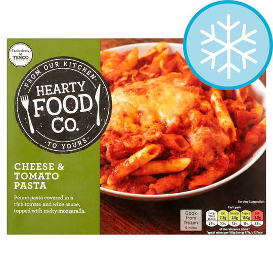 Hearty Food Co Cheese & Tomato Pasta 400G