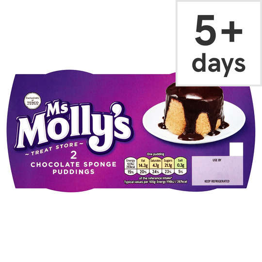 Ms Molly's 2 Chocolate Puddings 220G