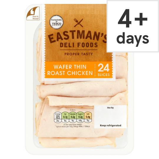 Eastman's Wafer Thin Roast Chicken 250G
