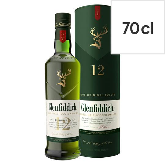 Glenfiddich 12Yo Malt 70Cl - Fruity