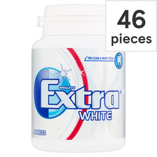 image 1 of Extra White Gum Bottle 46 Pieces64g