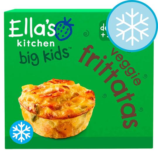 Ella's Kitchen Big Kids Vegetable Frittatas 200G