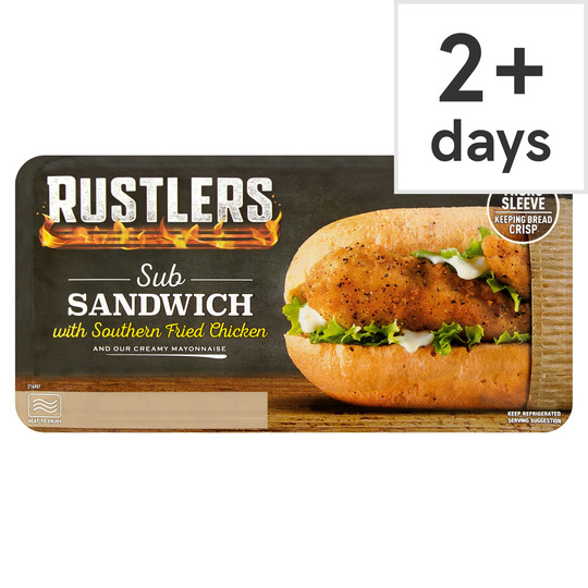 Rustlers Southern Fried Chicken 158G
