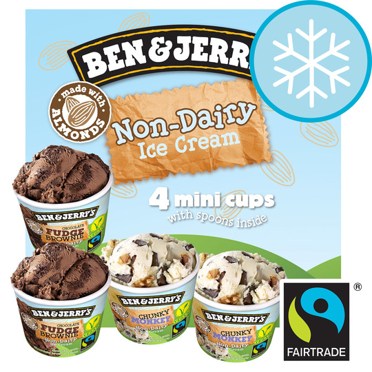 Ben & Jerry's Dairy Free Ice Cream Cup 400Ml
