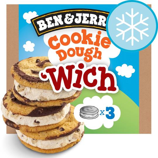 Ben & Jerry's Wich Ice Cream Sandwich 3 X 80Ml