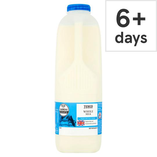 Tesco Whole Milk 2 Pints/1 13L