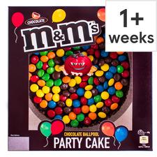 image 1 of M&M's Chocolate Ballpool Celebration Cake