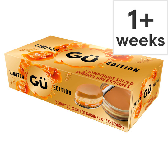 Gu Salted Caramel Cheesecake 2X92g
