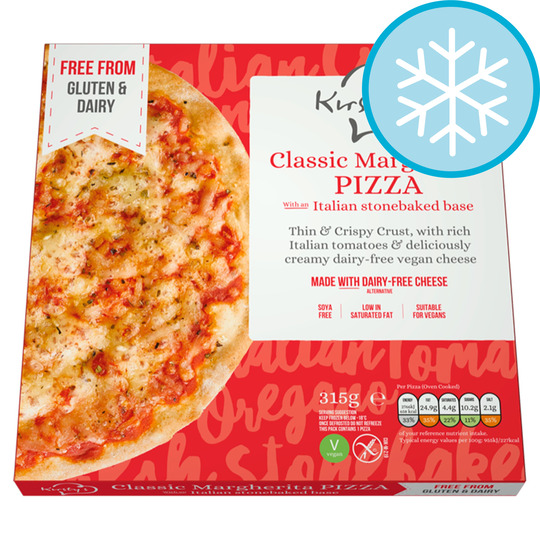 Kirsty's Free From Margherita Pizza 315G