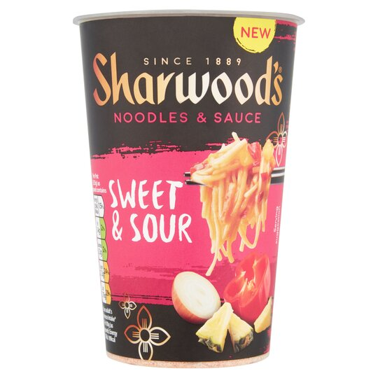 Sharwoods Sweet & Sour Noodle Pot 83G