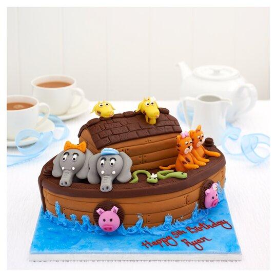 Tesco Easy Entertaining Noah's Ark Cake