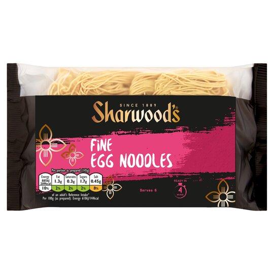 Sharwoods Fine Egg Noodles 340G