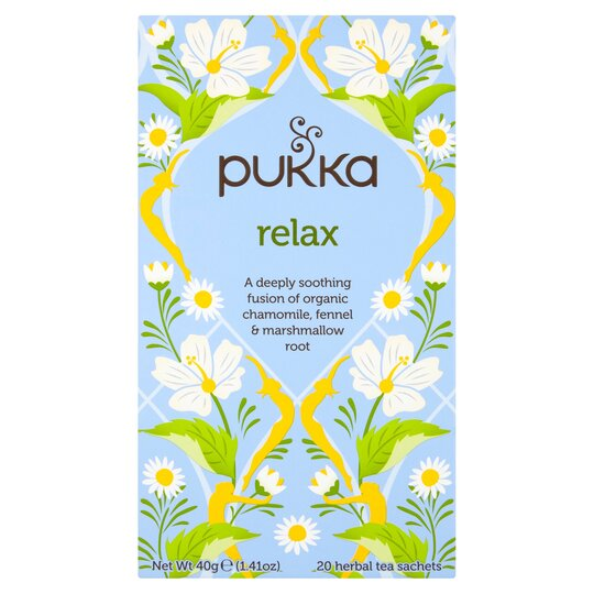 image 1 of Pukka Organic Relax Tea 20S 40G