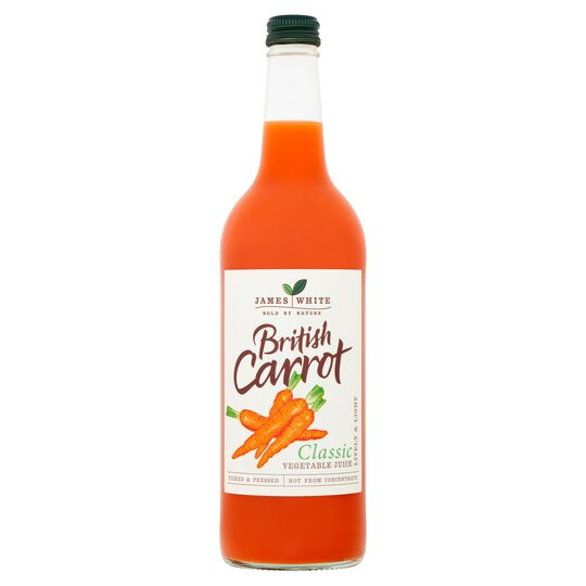 James White British Carrot Juice 75Cl