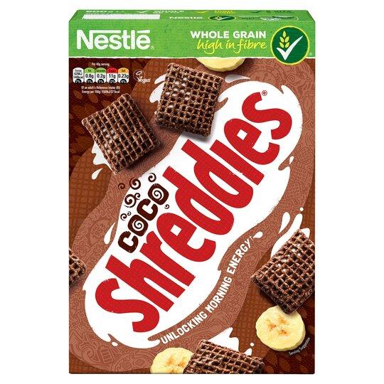 Nestle Coco Shreddies Cereal 500G