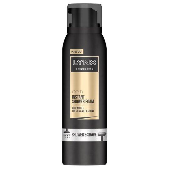 Lynx Gold Shower Foam 200Ml