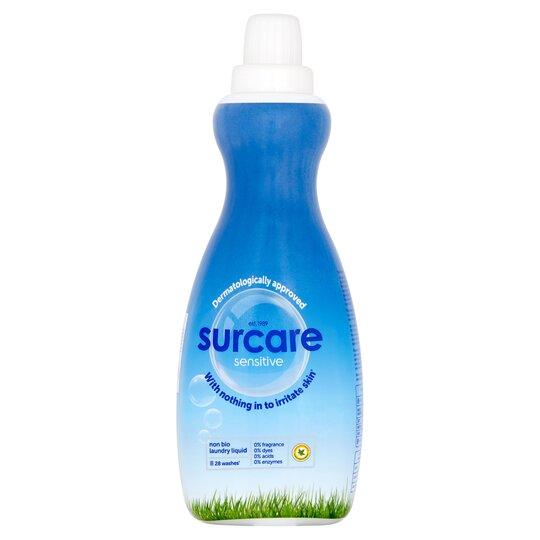 Surcare Non Biological Laundry Liquid 980Ml