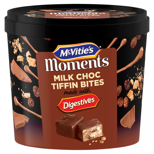 Mcvities Mini Chocolate Digestives Tiffins Tub 320G