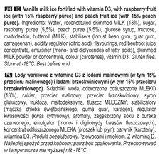 image 2 of Twister Raspberry & Peach Ice Lollies 8X50ml