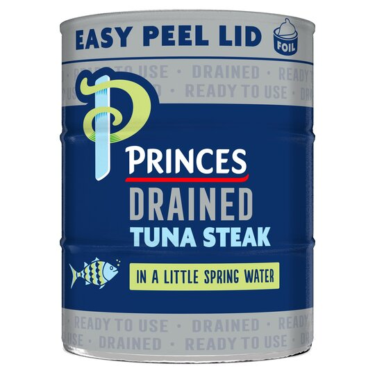 Princes Drained Tuna Steak In Spring Water 3X110g