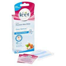 image 2 of Veet Facial Wax Strips Sensitive 20'S