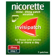 Nicorette Invisible Patch Step 1 25Mg 7S - Tesco Groceries