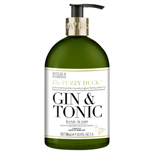 Dejlig Baylis & Harding Fuzzy Duck Gin & Tonic Hand Wash 500Ml - Tesco XM-38