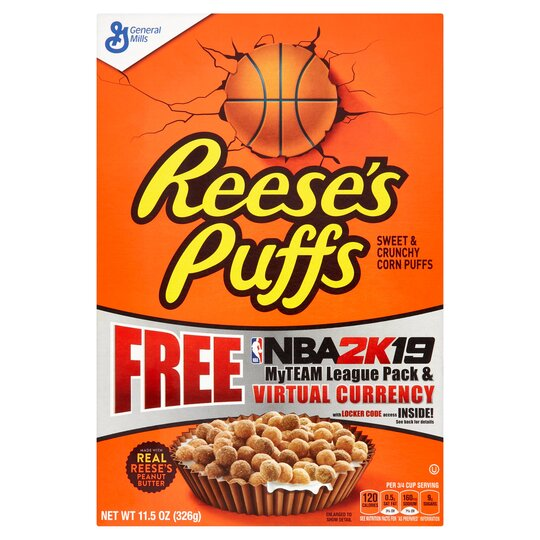 General Mills Reeses Puff Cereal 326G